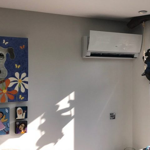 Air Conditioning System For Coach House in Clapham SW4