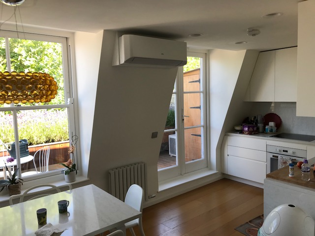 Living Room Air Conditioning for Earls Court Flat