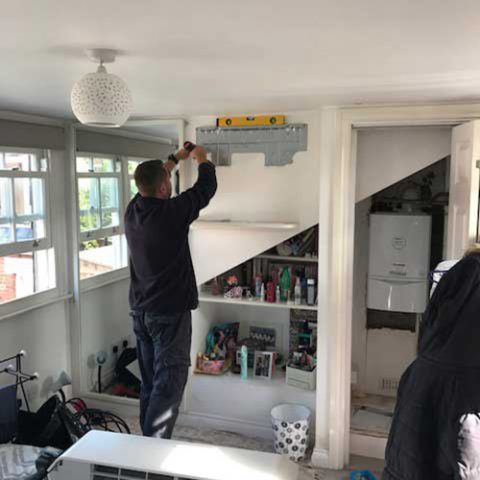 Air Conditioning for Loft Bedroom in Hampstead, NW3
