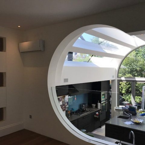 Corner House in Putney SW15 With Unique Architect Designed Interior
